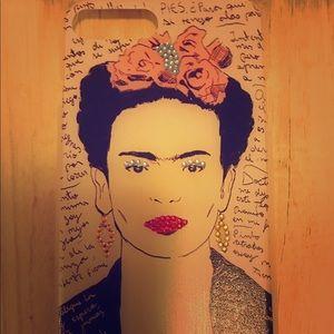 Accessories - Frida Kahlo Pop Art iPhone 7 Plus Case